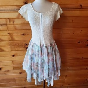 1980s Jon Wesley by Pacino Party Dress